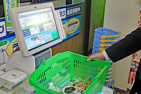 デジタルシフト事例(2)電子タグ(RFID)「日本チェーンドラッグストア協・実証実験」